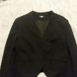 Black premise blazer